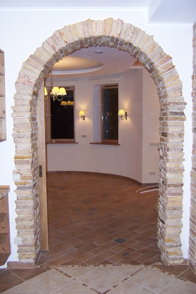 Облагородить арку в квартире