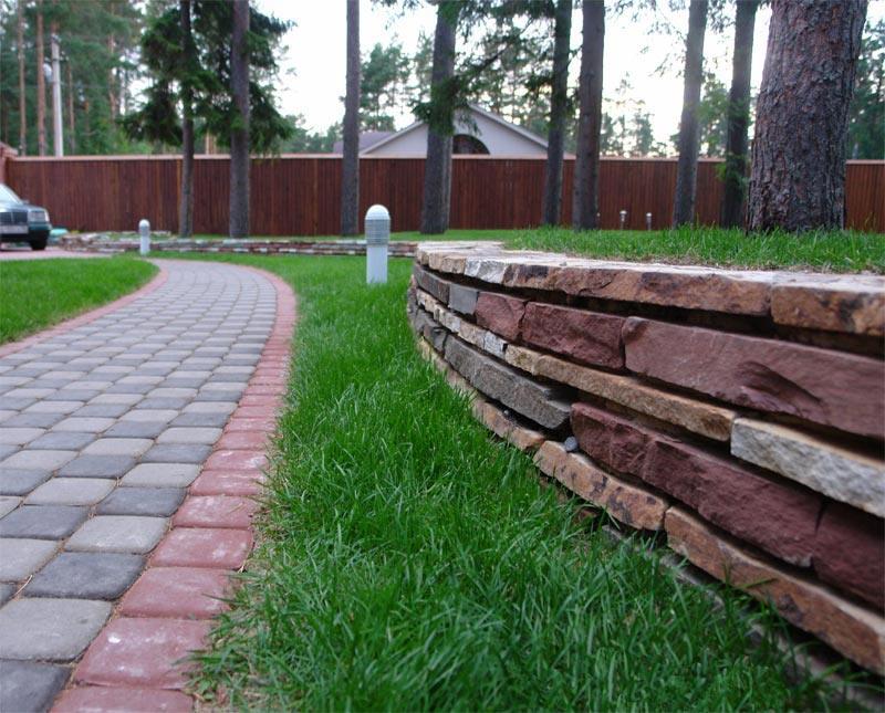 Стоймость подпорной стенки из дикого камня