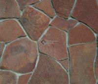 Песчаник красно-коричневый