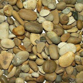 Галька жёлто-коричневая  5-10 мм