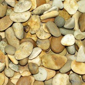 Галька жёлто-коричневая 10-20 мм